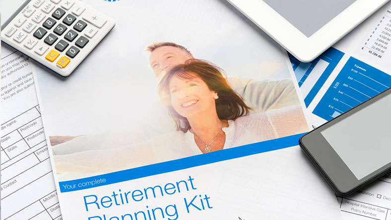 Retirement planning kit documents